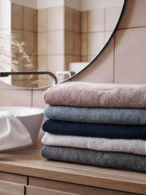 Einfarbiges Handtuch Comfort, verschiedene Größen, Hellgrau, Gästehandtuch
