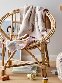 Kinder-Sessel Jubbe, Rattan, Beige, 53 x 55 cm