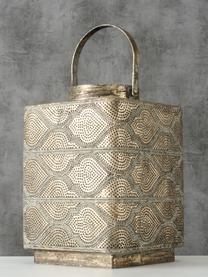 Lanterna Balboa, Metallo rivestito, Dorato con  finitura antica, Larg. 21 x Alt. 26 cm