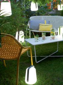 Mobiele outdoor LED lampen Balad, 3 stuks, Lampenkap: polyethyleen, speciaal be, Geel, Ø 28 x H 38 cm