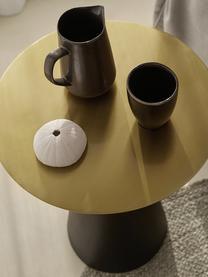 Table d'appoint en métal Zelda, 2 élém., Couleur dorée, noir