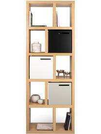 Bücherregal Portlyn mit Eichenholzfurnier, Oberfläche: Echtholzfurnier, Eichenholz, 70 x 198 cm