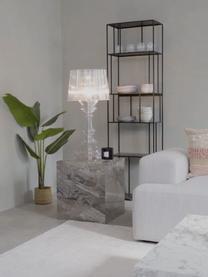 Lampada da tavolo Bourgie, Paralume: policarbonato Base della , Trasparente, Ø 37 x Alt. 78 cm