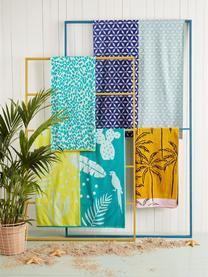 Ręcznik plażowy Lemonade, Niebieski, S 100 x D 180 cm