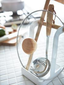 Küchenutensilienhalter Tosca, Griff: Holz, Weiß, Holz, 11 x 16 cm