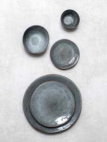 XS kommen Pauline in donkergrijs Ø 13, 2 stuks, Keramiek, Donkergrijs, 13 x 6 cm