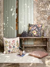 Housse de coussin 50x50 Lilotte, Beige, multicolore