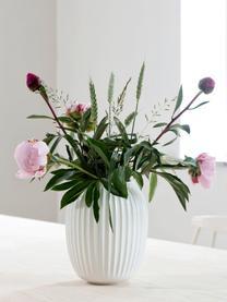 Handgemaakte design vaas Hammershøi, Porselein, Wit, Ø 17 x H 20 cm
