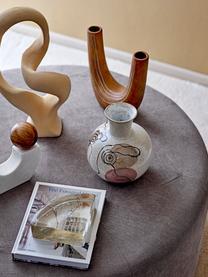 Pieza decorativa Flauna, Gres, Beige, An 28 x Al 41 cm