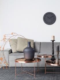 Stolik pomocniczy ze szklanym blatem  Cupid, Stelaż: metal miedziowany, Blat: szkło, Miedziany, Ø 43 x W 45 cm