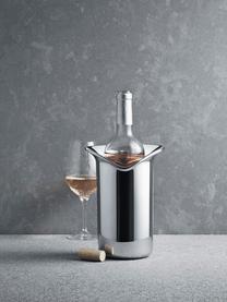 Flaschenkühler Wine & Bar aus Edelstahl, Edelstahl, hochglanzpoliert, Edelstahl, glänzend, 16 x 22 cm