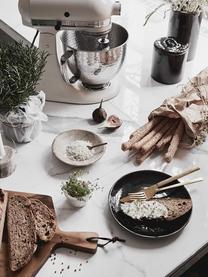 Handgemachtes Frühstücks-Set Nordic Coal aus Steingut, 4 Personen (12-tlg.), Steingut, Bräunlich, Sondergrößen