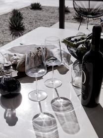 Bicchiere da vino rosso in cristallo Power 6 pz, Cristallo, Trasparente, Ø 9 x Alt. 23 cm