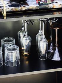 Ručně foukaná sklenice na šampaňské se vzduchovými bublinami, Bubble, 4 ks, Transparentní se vzduchovými bublinami