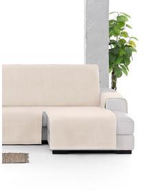 Copertura divano angolare Levante, 65% cotone, 35% poliestere, Beige, Larg. 150 x Prof. 290 cm