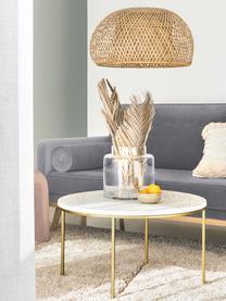 Samt-Sofa Saint (3-Sitzer) in Grau mit Eichenholz-Füße, Bezug: Samt (Polyester) Der hoch, Gestell: Massives Eichenholz, Span, Samt Grau, B 210 x T 93 cm