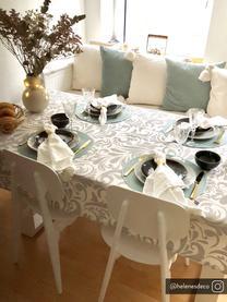 Kunststoff-Stühle Smilla, 2 Stück, Sitzfläche: Kunststoff, Beine: Kunststoff, Weiß, matt, B 43 x T 49 cm
