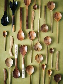Zartes Salatbesteck Wodeen aus Mangoholz, 2er-Set, Mangoholz, Mangoholz, L 28