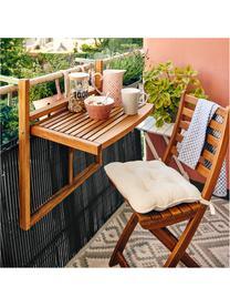 Balkon-Klappstühle Lodge aus Holz, 2 Stück, Akazienholz, geölt, Akazienholz, 36 x 86 cm