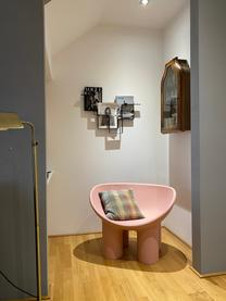 Designer Sessel Roly Poly in Rosa, Polyethylen, im Rotationsgussverfahren hergestellt, Rosa, B 84 x T 57 cm