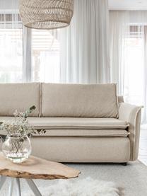 Sofa rozkładana z miejscem do przechowywania Charming Charlie, Beżowy, S 225 x G 85 cm