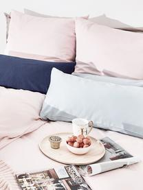Pościel z satyny bawełnianej Comfort, Blady różowy, 135 x 200 cm