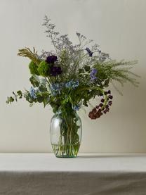 Vase Kusintha aus recycelem Glas, Recyceltes Glas, Grün, Ø 13 x H 20 cm