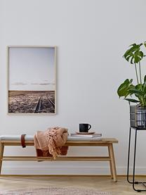 Tassen Neri mit Rillenstruktur in Schwarz matt, 2 Stück, Steingut Mit Rillenstruktur und leicht rauer Oberfläche, Schwarz, Ø 9 x H 9 cm