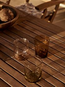Mundgeblasene Wassergläser Desigual in unterschiedlichen Formen, 6er-Set, Glas, mundgeblasen, Mehrfarbig, Ø 8 x H 10 cm