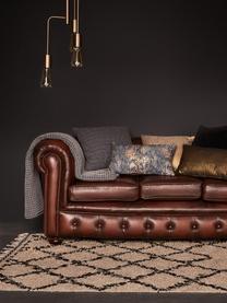 Narzuta z piki Kikai, 100% bawełna, Szary, S 260 x D 260 cm (na łóżka do 160 x 200)