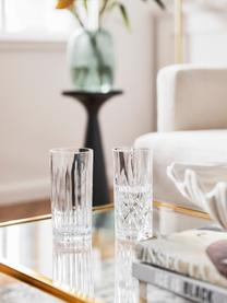 Kryształowy komplet szklanek do koktajli Bichiera, 4 elem., Szkło kryształowe, Transparentny, Ø 7 x W 15 cm