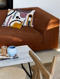 Federa arredo con ornamento astratto Wassily, 100% cotone, Fronte: multicolore Retro: bianco, Larg. 45 x Lung. 45 cm