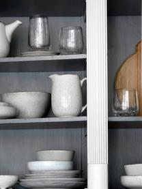 Ręcznie wykonany dzbanek do mleka z kamionki Nordic Sand, Kamionka, Piaskowy, S 17 x W 16 cm
