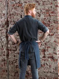 Schürze Kit, Baumwolle, Navyblau, 85 x 85 cm