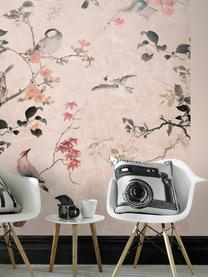 Fototapete Japanese Garden, Vlies, Rosa, Mehrfarbig, 200 x 280 cm
