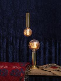 Lampadina E27, 3W, bianco caldo, 1 pz, Paralume: vetro, Base lampadina: nichel, Ambra, Ø 13 x Alt. 17 cm