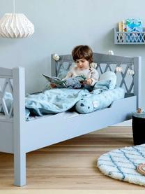 Łóżko dla dzieci Harlequin, Drewno lakierowane, Szary, S 100 x D 170 cm