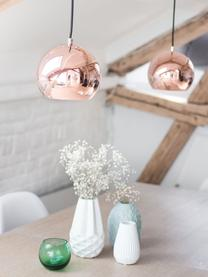 Kleine Kugel-Pendelleuchte Ball, Lampenschirm: Metall, beschichtet, Baldachin: Metall, beschichtet, Kupferfarben, Ø 18 x H 16 cm