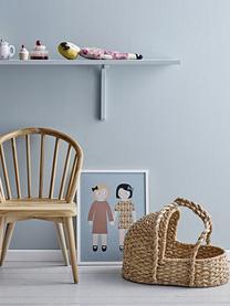 Puppenbett Stephie, Bankuangras, Metall, Beige, 44 x 39 cm