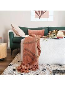 Puszysty dywan z wysokim stosem Ayana, Beżowy, czarny, S 120 x D 180 cm (Rozmiar S)