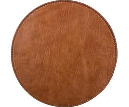 Rundes Leder-Tischset Lia