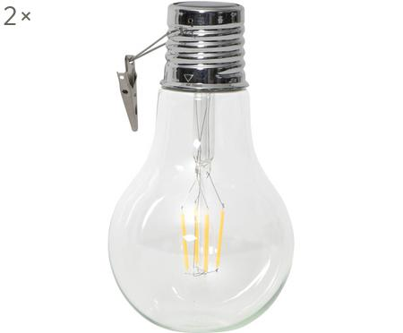 Solarna lampa LED Fille, 2 szt.