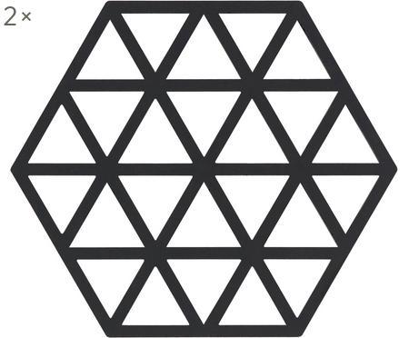 Podstawka pod gorące naczynia z silikonu Triangle, 2 szt.
