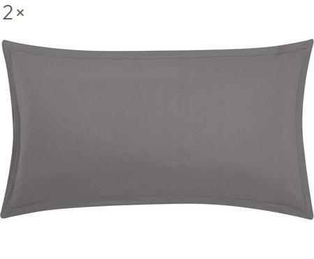 Poszewka na poduszkę z lnu z efektem sprania Breezy, 2 szt.