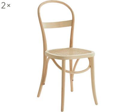 Sedia in legno Rippats, 2 pz.