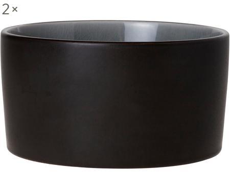 Schälchen Lagune Black, 2 Stück