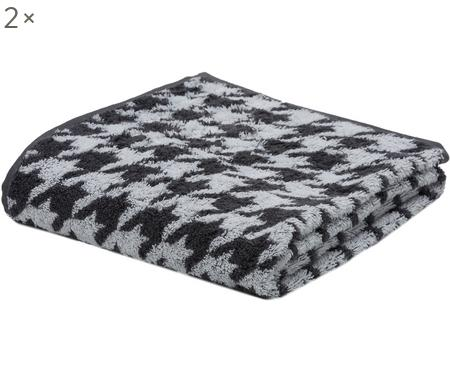 Asciugamano Shapes, 2 pz.