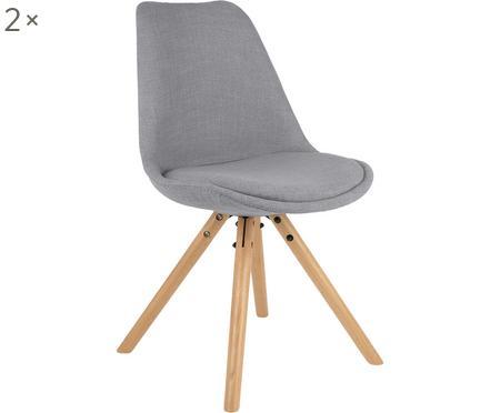 Krzesło tapicerowane scandi Max, 2 szt.