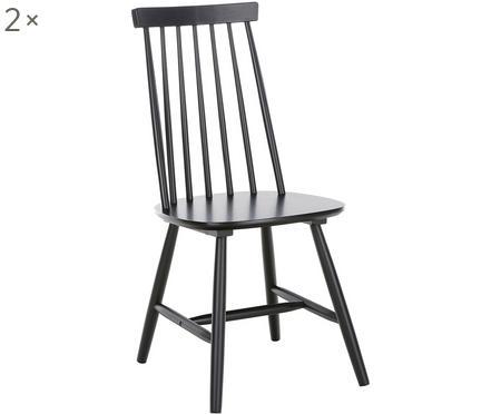 Holzstühle Milas, 2 Stück