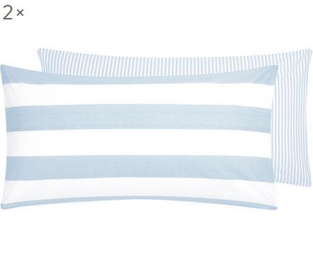 Dwustronna poszewka na poduszkę z bawełny renforcé, 2 szt.